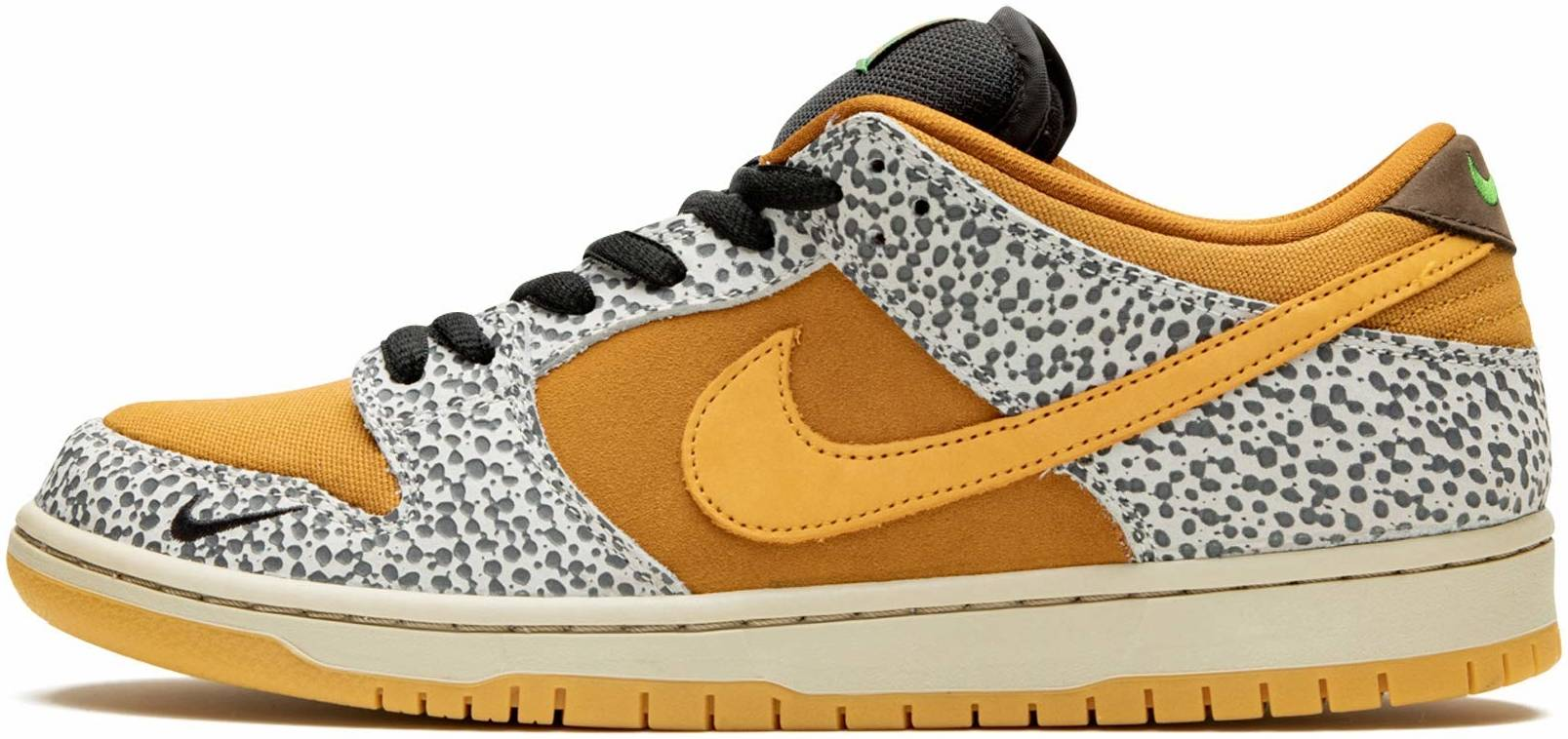 Nike SB Dunk Low Pro sneakers in grey | RunRepeat