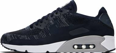 Nike Air Max 90 Ultra 2.0 Flyknit - College Navy 401 (875943401)