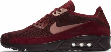 Nike Air Max 90 Ultra 2.0 Flyknit - Mehrfarbig (Team Red/Rust Pink-d 601)