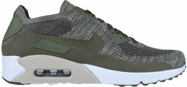 Nike Air Max 90 Ultra 2.0 Flyknit - MEDIUM OLIVE