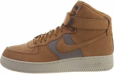 Nike Air Force 1 High Wheat/Khaki/Light Bone/Yellow Ochre Men