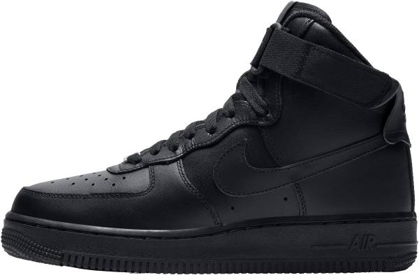 buy online 89732 b5f6e Nike Air Force 1 High Black Black Black