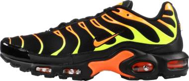 Nike Air Max Plus Black/Volt/Total Orange/Hot Punch Men