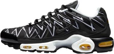 Nike Air Max Plus Black/Black/White Men