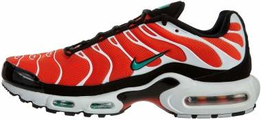 Nike Air Max Plus - Orange Team Orange Neptune Green White Black 801