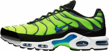 Nike Air Max Plus Verde (Volt/Photo Blue/Black/Dark Grey 700) Men