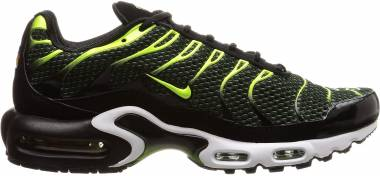 Nike Air Max Plus Black/Volt/Dark Grey/White Men