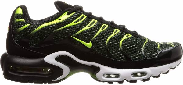 Nike Air Max Plus - Black Volt Dark Grey White (852630036)