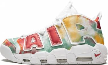 Nike Air More Uptempo Amarillo/White/Speed Red/Neptune Green Men