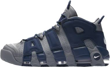 Nike Air More Uptempo Cool Grey/White/Midnight Navy Men