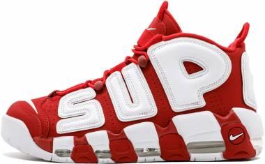 Nike Air More Uptempo Varsity Red/White Men