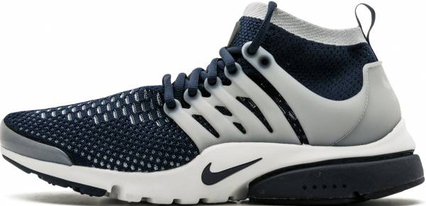 d8e44a8ea10b Nike Air Presto Ultra Flyknit Collegiate Navy Wolf Grey White. Any color