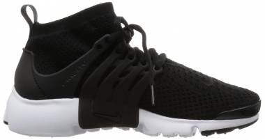 Nike Air Presto Ultra Flyknit - Black, Black-white-electric Green (835738001)