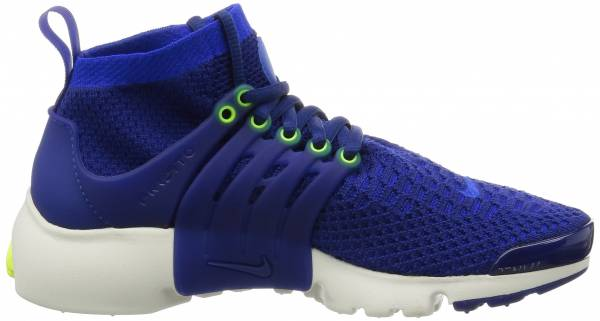 Polvo Celsius montaje  Nike Air Presto Ultra Flyknit sneakers in blue (only $150) | RunRepeat