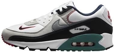 Nike Air Max 90 SE - White Fresh Water Grey Fog Smoke Grey (DJ5190100)