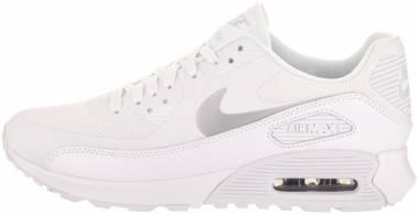 Nike Air Max 90 Ultra 2.0 - Bianco White Mtlc Platinum White Black (881106101)