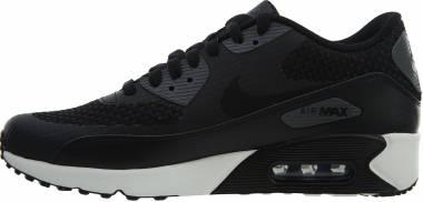 Nike Air Max 90 Ultra 2.0 SE - Black Black Black Dark Grey Sail 007 (876005007)