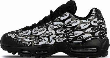 Nike Air Max 95 Premium - Nero Black Black White 017 (538416017)