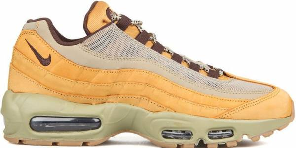 new styles 6aae7 50f51 Nike Air Max 95 Premium Amarillo   Gris (Bronze   Baroque Brown-bamboo)