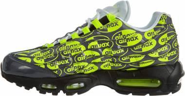 Nike Air Max 95 Premium - Black Black Volt Ash White 019