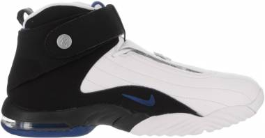 Nike Air Penny IV - White Black Atlantinc Blue