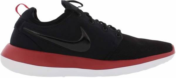 Nike Roshe Two - Black/Black/Gym Red/White