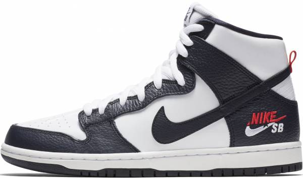 sports shoes e139e b4ee9 Nike SB Dunk High Pro obsidian, obsidian-white