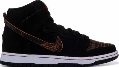 Nike SB Dunk High Pro - Black/University Red (305050026)