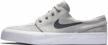 Nike SB Zoom Stefan Janoski Premium High Tape - Gris (Wolf Grey/Dark Grey-metallic Gold White) (854321006)