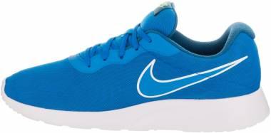Nike Tanjun Premium - Blau Photo Blue Industrial Blue Electro Green Photo Blue