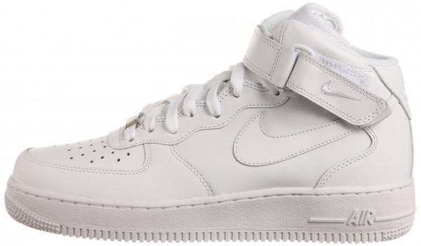 nike air force 1 white mid