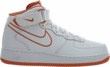 Nike Air Force 1 Mid White/Terra Orange Men