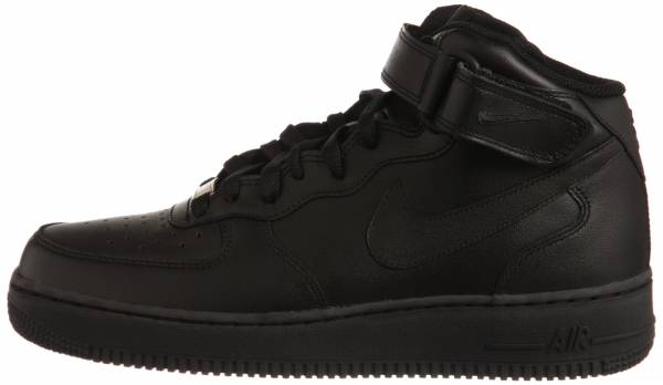 the latest aa519 9b34e Nike Air Force 1 Mid BLACK