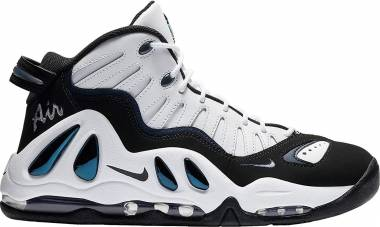 Nike Air Max Uptempo 97 - White / Black-college Navy
