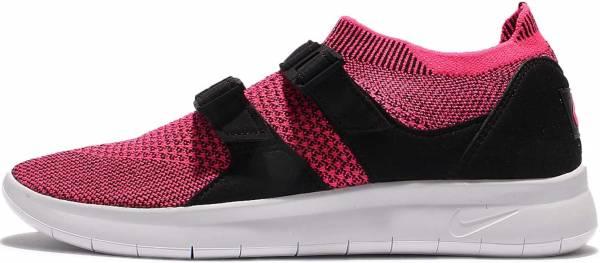 Nike Air Sock Racer Ultra Flyknit - Black/White-Racer Pink