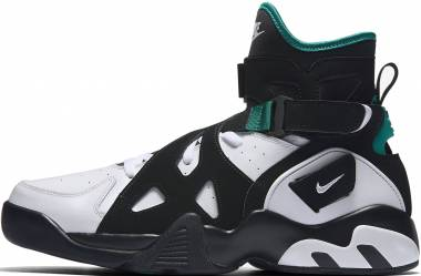 Nike Air Unlimited - Black/White Deep Emerald Black