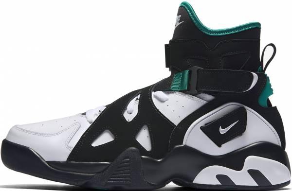 Nike Air Unlimited - Black/White Deep Emerald Black