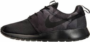 Nike Roshe One Print - Varios Colores (Negro / Gris (Black / Black-dark Grey))