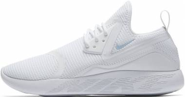 Nike LunarCharge Breathe - White / Light Armory Blue-white