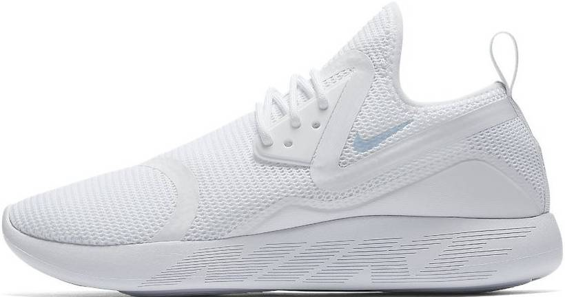 brecha Apuesta Excavación  Nike LunarCharge Breathe sneakers in white + black (only $73) | RunRepeat