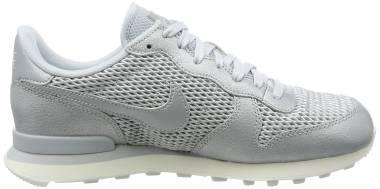 Nike Internationalist Premium Argent (Platine Métallisé/Voile/Platine Pur) Men