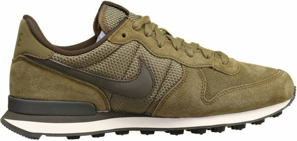 nike internationalist premium olive