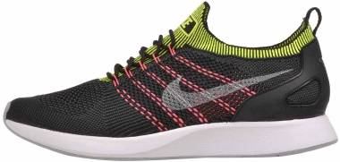 Nike Air Zoom Mariah Flyknit Racer - Multicolore Black Wolf Grey Anthracite Volt 016