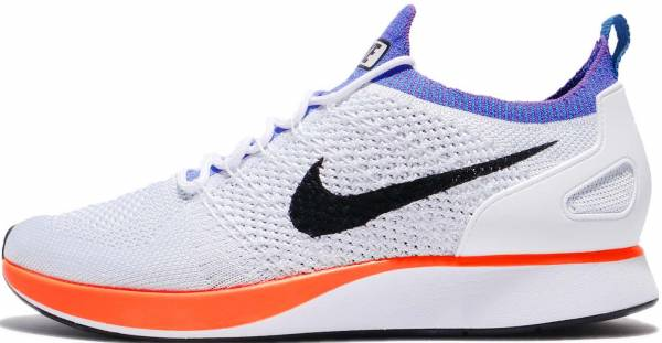 Nike Air Zoom Mariah Flyknit Racer - White Whitehyper Crimsonpure Platinum (918264100)