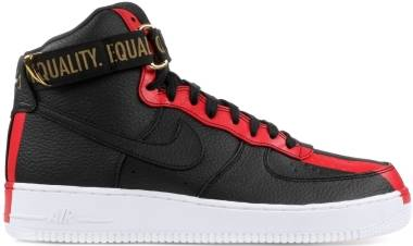 Nike Air Force 1 High BHM QS - Black
