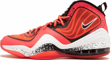 new arrival 9a2a2 9ca53 Nike Air Penny V Atoimic Red Black White Men