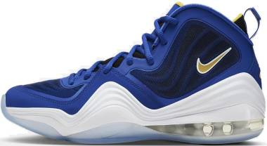 Nike Air Penny V - Bright Blue/Yellow Streak-white (537331402)
