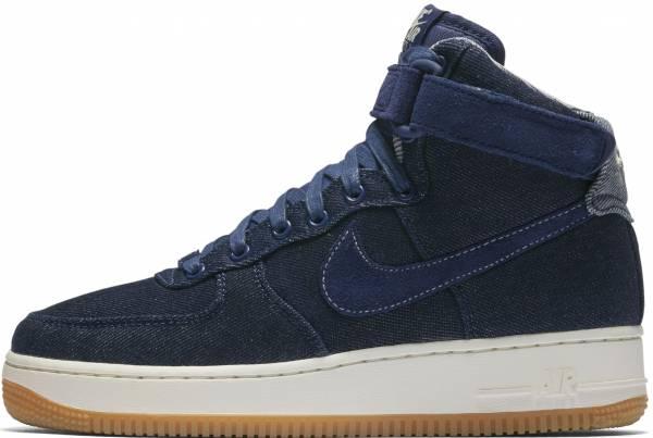 Nike Air Force 1 High SE - Binary Blue/Muslin-sail-gum Light Brown (860544400)