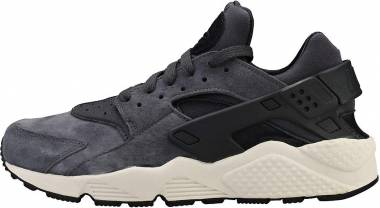 Nike Air Huarache Premium - Anthracite / Black-light Bone