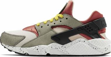 Nike Air Huarache Premium - Spruce Fog Black Bright Citron